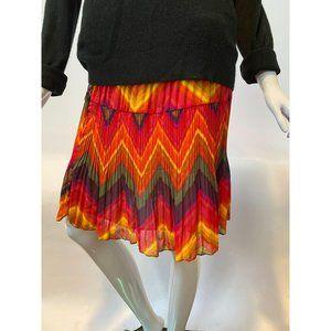 Flamestitch Petite Skirt